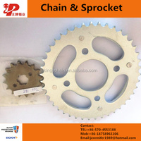 three wheel motorcycle chain sprocket reinforced 428H motorcycle chain kits