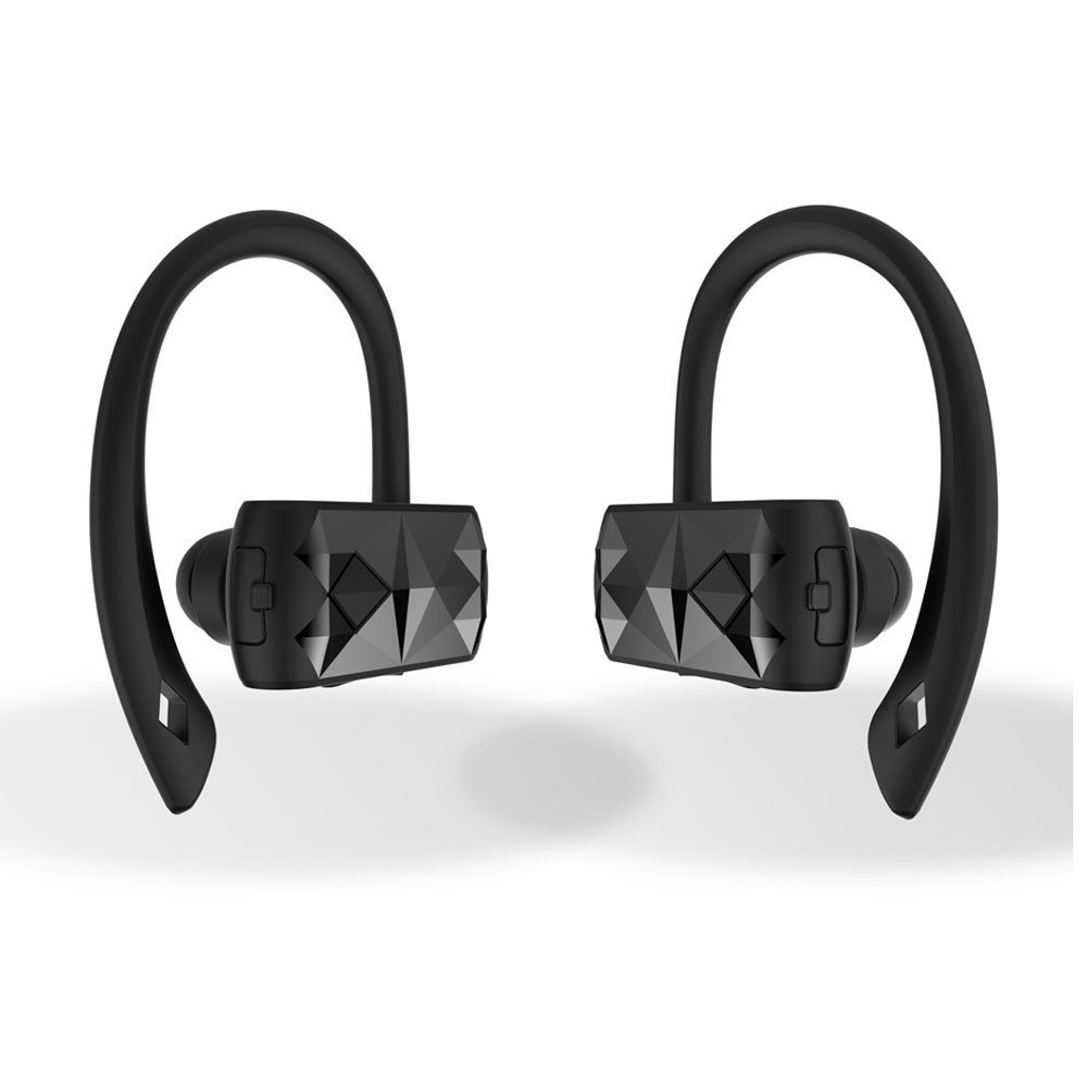 Dual TWS Bluetooth 4.2 Headsets True Wireless Stereo Headphones Cordless Earbuds Hands-Free Noise Cancelling In-Ear Earphones Sp