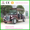 purple 6 seats electric classic car for sale