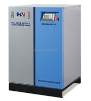 oil free scroll compressor air machine