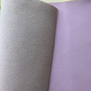 Patent leather grain Leather Fabric For Shoes Synthetic Material Wholesale Microfiber Leather