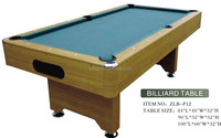 Chinese pool table with a set pool table accessories free