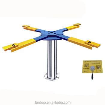 pneumatic and hydraulic single post car lift auto hoist Vehicle lifter with CE approved Shanghai Fanbao QJY-S4