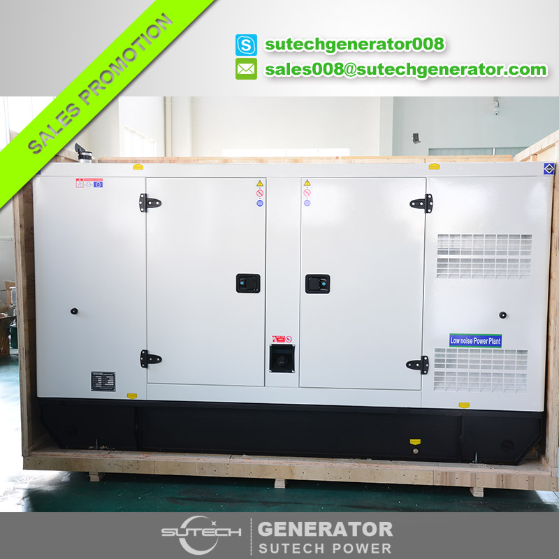 Soundproof silent type diesel genset 100kva diesel generator 80kw price with Cummins engine 6BT5.9-G1