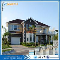 Spain Free sample Easy build Luxury precast concrete home price