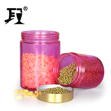 round glass jar food containers and plastic lid Glass Storage Jar