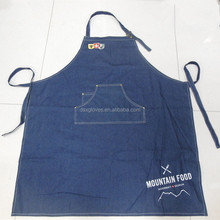 Wholesale Cotton Christmas Aprons Cheap cotton kitchen aprons Cotton denim kitchen apron