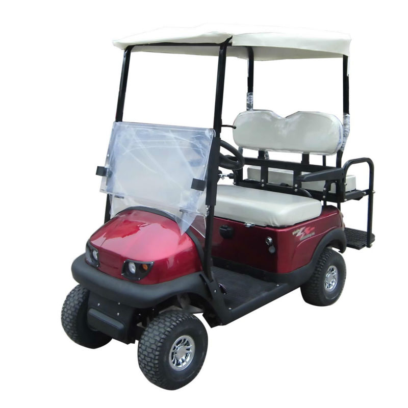 Top sale mini electric vehicle 4 seater gas golf carts whosale! car steering system golf cart