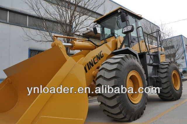 China telescopic 5 ton heavy wheel loader with low price for sale