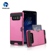 High Quality Mobile Phone Case Cover For Samsung Galaxy Note 8 PC+TPU 2 in 1 Case