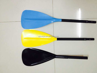 factory price plastic paddle aluminum outrigger canoe paddle