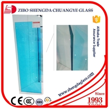 China factory reflective+stained laminated glass with max thickness 60mm