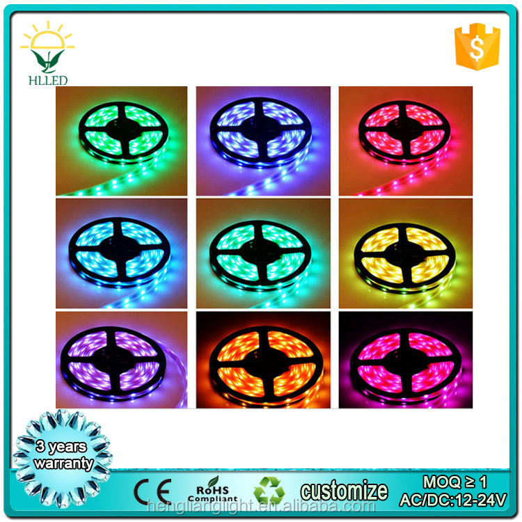 DC24V 12v high lumen 2835 SMD chip 192pcs led chip IP65 outdoor water proof led strip light