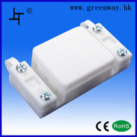 M609 white cable electrical junction box with low price and high quality for lamp wiring