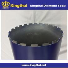 Jikai 300mm fast drilling diamond core bit for building materials