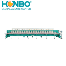 HB-HFG924 24 heads computerized flat embroidery machine