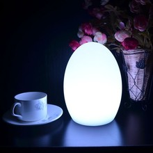 indoor modern battery operated funky table lamps rainbow color cordless USB rechargeable portable luminaire desk for hotel