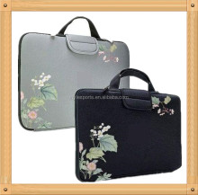 2014 Fashion neoprene sleeve with handle for ipad