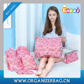 Encai 7 in 1 Floral Design Storage Bag Set Travel Clothes Packing Cube Set