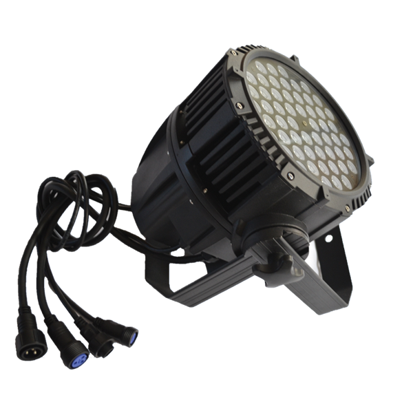 DJ high brightness waterproof Led 54 3W par 64 can led guangzhou stage light rgbw