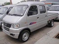 China Truck 4x2 Gasoline 1.5 Ton Mini Cargo Van