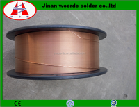 manufactur look for distributor copper alloy material CO2 gas welding process shielded weilding wire ER70S-6