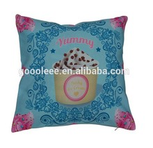 wholesale decorative pillow cover 100 % polyester sofa cushion cover