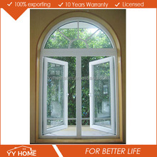 YY Home Elegant Round Top Hinge Window Comply With AS 2047
