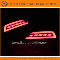Great Quality LED Rear Bumper Reflectors for Kia Sorento Super Bright LED Reflector Tail Light for Kia Sorento 2015