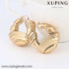 E-153- Xuping Hot Sale Popular Big Ladies Africa Style Earrings