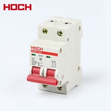 HOCH DZ47 2 phase pole mini electric miniature circuit breaker
