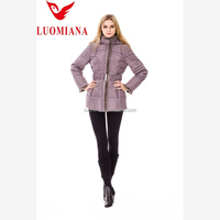 2014 new arrival european fashion winter nylon jogging suits for women