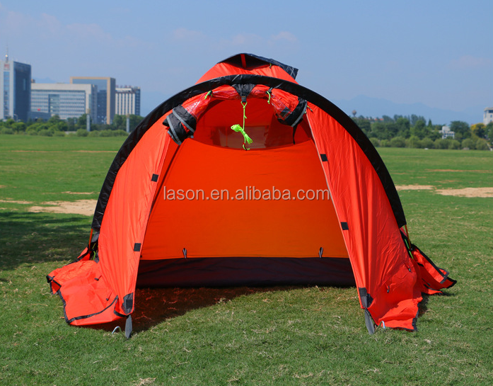 Ultra-light aluminum climbing tent