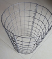 Hot-dipped Galvanizing Round Style Welded Mesh Gabion Box