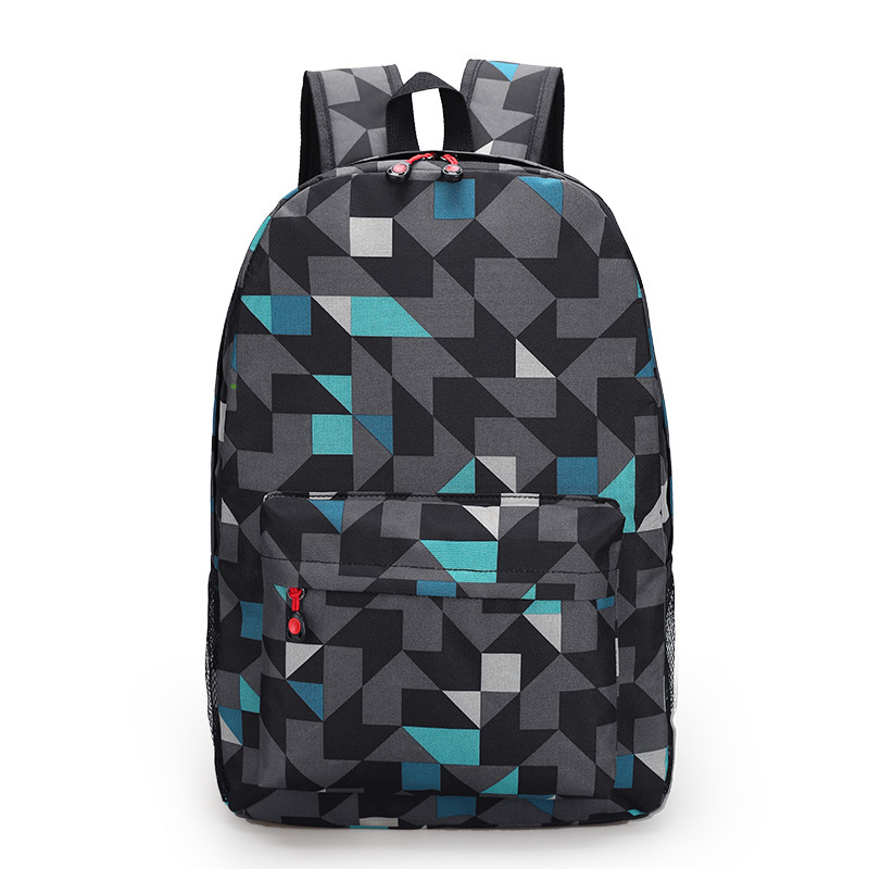 wholesale Factory Price 3D Geometric printing school backpack for kids