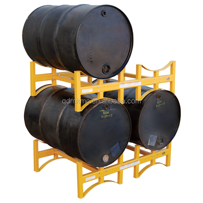 Metal bars storage stackable drum shelf <strong>racks</strong>