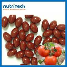 GMP Factory Wholesale Natural Tomato Lycopene Softgel