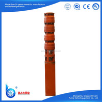 High pressure submersible water well pumps