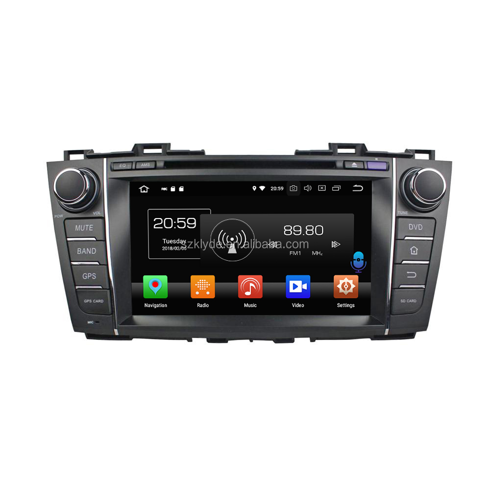 new model pure android system NXP6686 built in wifi android systems mirror link car dvd for Mazada 5 Premacy 2009-2012