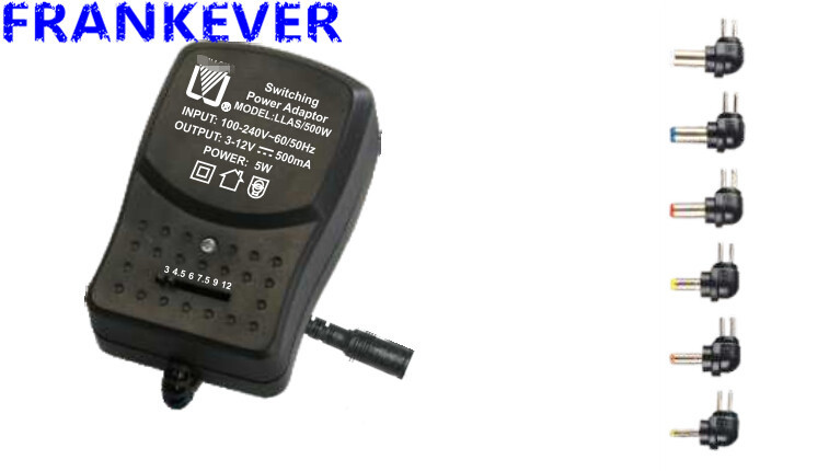 plug in switching power adapter POWER SUPPLY 500ma switching adapter 100-240V AC