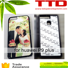 wholesale high quality TPU DIY sublimation blank phone cover for huawei P9 plus
