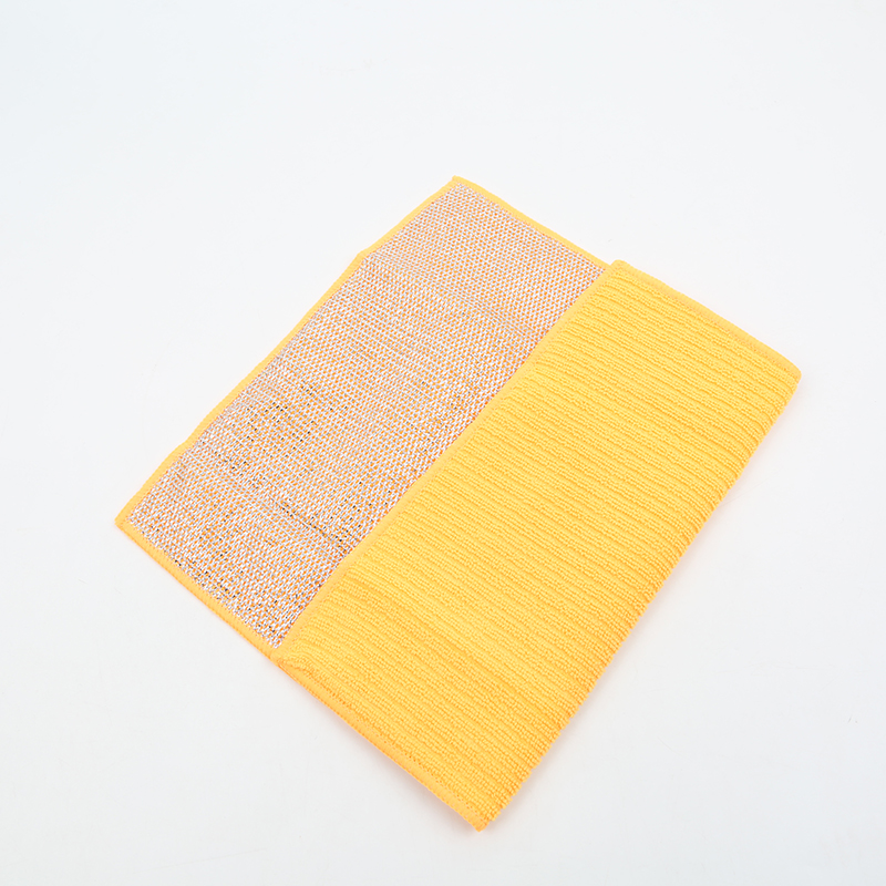 china supplier high quality microfiber non-abrasive kitchen scouring pad