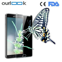 Ultra transparent toughened glass mobile phone film