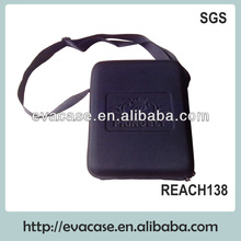 Carrying hair scissor case with pocket & tray
