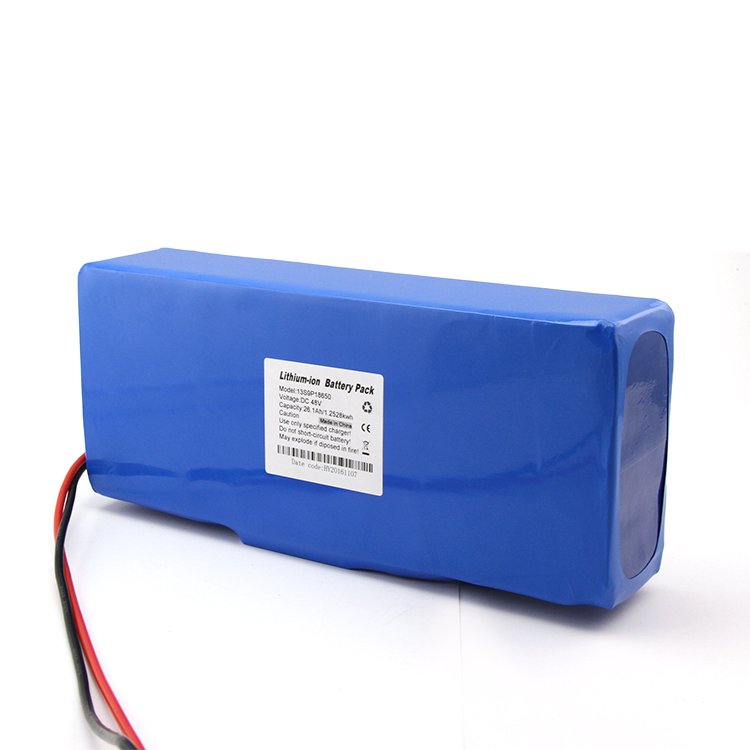 Customized lithium ion 48v 20ah battery pack for folding electric bicycle
