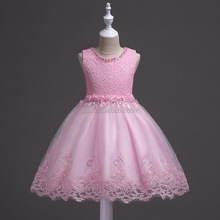 Wedding princess <strong>dress</strong> and gauze sleeveless lace and chiffon embroidered beaded <strong>girl</strong> <strong>dresses</strong>