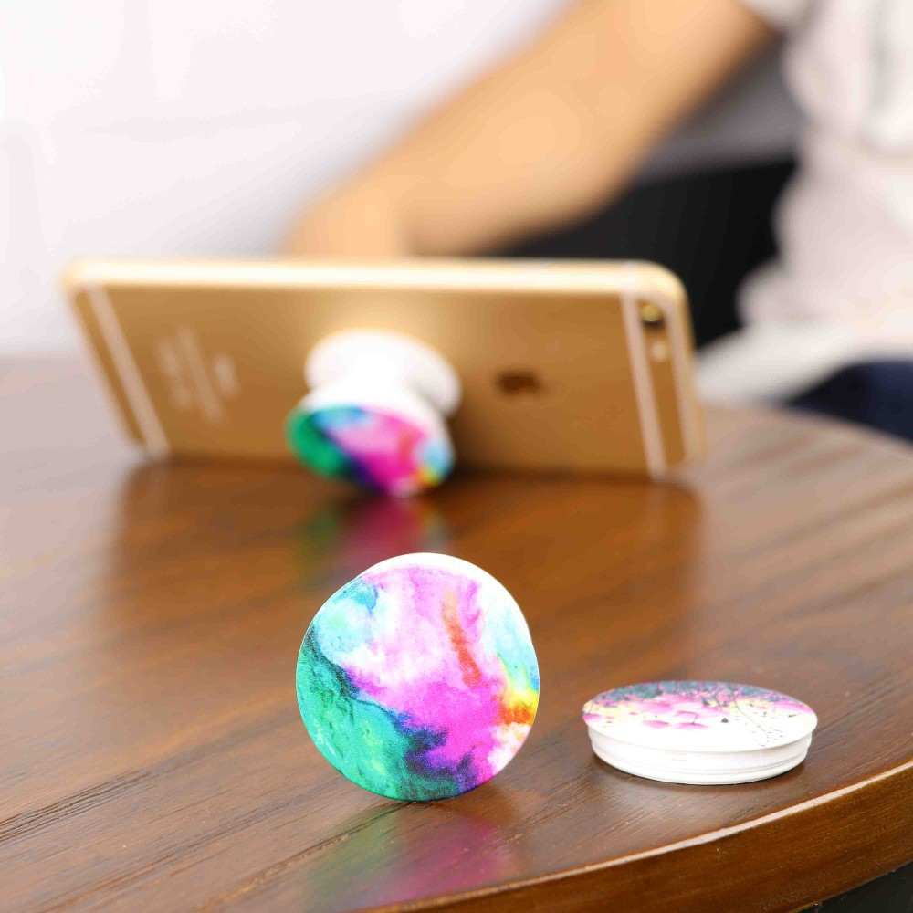 free logo custom universal phone pop up grip stand socket cell phone pop grip holder