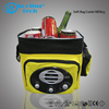 Insulated Summer can cold drinking yellow convenient cooler bag with radio
