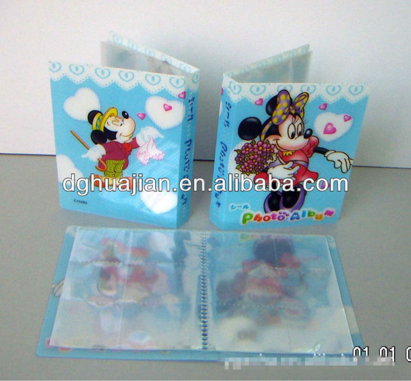 Colorful printing card holder, name card holder