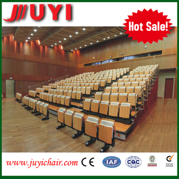 telescopic chair JY-780 factory price bleacher theater furniture auditorium chair retractable seating manufacture